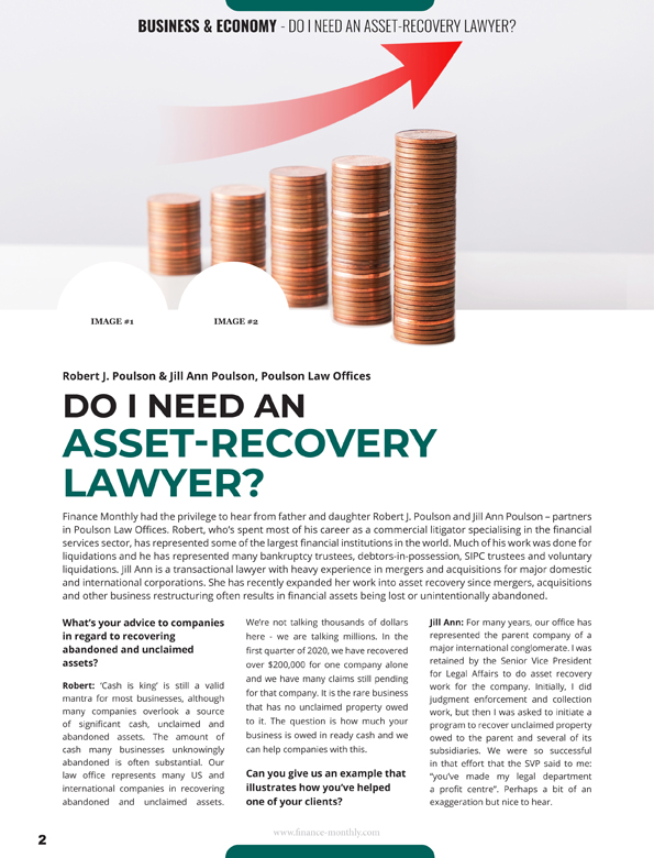 Do I Need an Asset-Recovery Lawyer