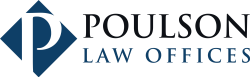 Poulson Law Offices logo